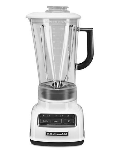 Kitchenaid 60 oz Diamond Jar 5 Speed Stand Blender-WHITE-One Size 86307411_WHITE_One Size