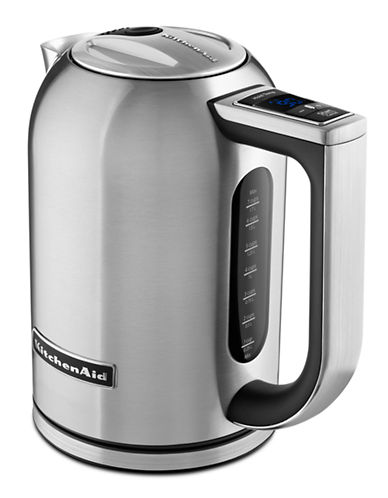 Kitchenaid Variable Temperature Electric Kettle-BRUSHED STANILESS STEEL-One Size