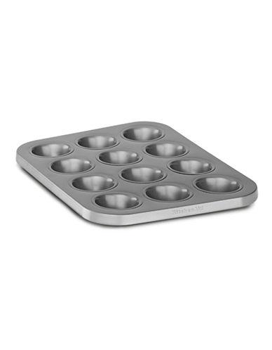 Kitchenaid Professional .8MM Non Stick 12 CAVITY MUFFIN Pan-SILVER-One Size