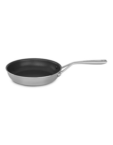 Kitchenaid Tri-Ply Stainless Steel 10 inch Skillet with Non-Stick-SILVER-10in