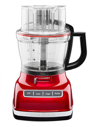 Kitchenaid Architect 14 Cup Food Processor-CANDY APPLE RED-One Size