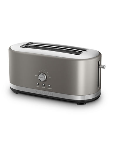 Kitchenaid Four-Slice Long Slot Toaster-SILVER-One Size
