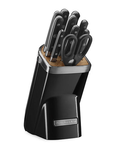 Kitchenaid Eleven-Piece Professional Series Cutlery Set-ONYX BLACK-12
