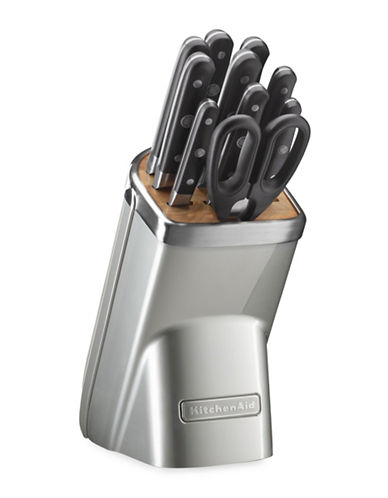 Kitchenaid Eleven-Piece Professional Series Cutlery Set-SUGAR PEARL-12