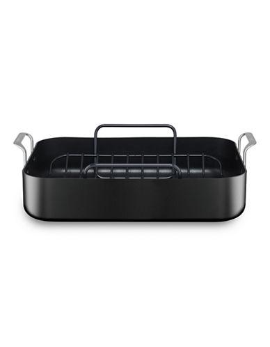 Kitchenaid Hard Anodized Roaster with Rack-BLACK-16