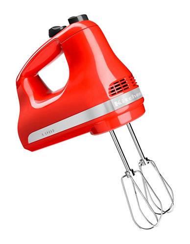 Kitchenaid Five-Speed Ultra Power Hand Mixer-HOT SAUCE-One Size