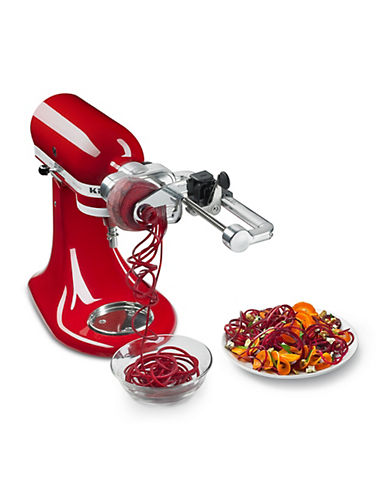 Kitchenaid Spiralizer Plus with Peel Core and Slice - Stand Mixer Attachment-RED-One Size 88510128_RED_One Size