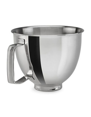 Kitchenaid Artisan Mini Stand Mixer Attachment - Polished Stainless Steel Bowl Accessory, 3.5 Quart-STAINLESS STEEL-One Size