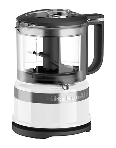Kitchenaid 3.5 Cup Mini Food Processor-WHITE-One Size