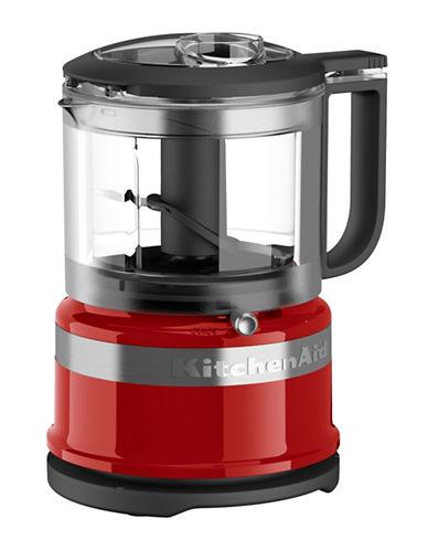 Kitchenaid 3.5 Cup Mini Food Processor-RED-One Size