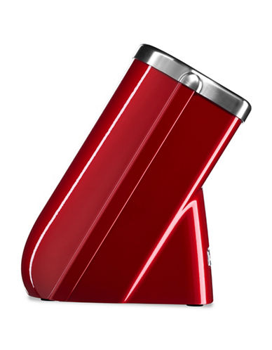 Kitchenaid Professional Acacia Wood Cutlery Block-RED-One Size