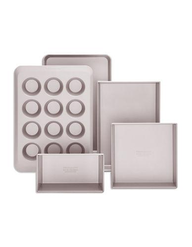 Kitchenaid Classic Nonstick 5-Piece Bakeware Set-METAL-One Size