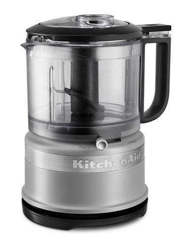 Kitchenaid 3.5 Cup Mini Food Processor-MATTE GREY-One Size