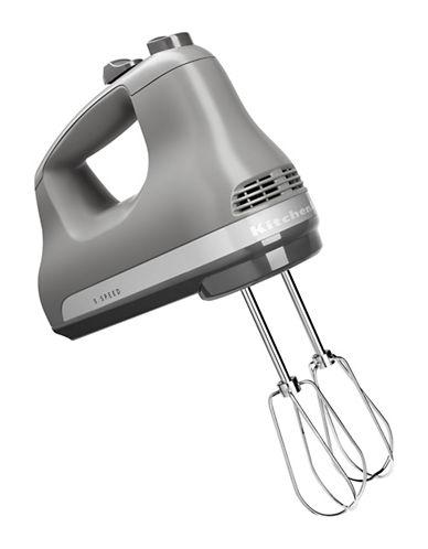 Kitchenaid Five-Speed Ultra Power Hand Mixer-MATTE GREY-One Size