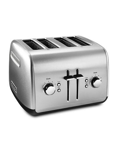 Kitchenaid Four-Slice Toaster-SILVER-One Size