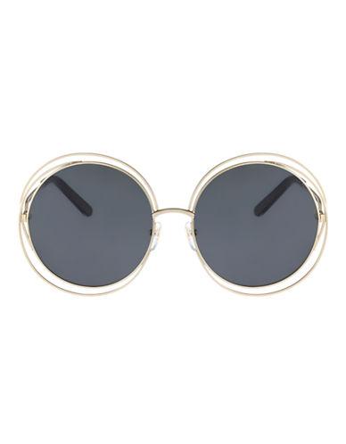 Chloé CE114S Carlina Sunglasses-GOLD BLACK-One Size