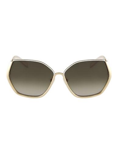 Chloé CE115S Danae Sunglasses-GOLD WHITE-One Size