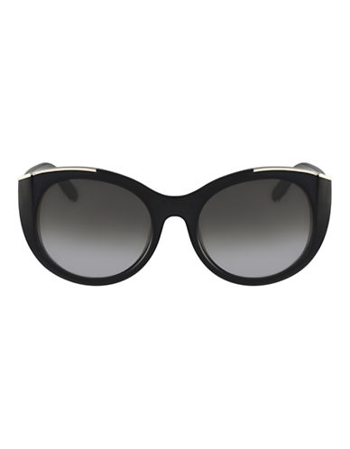 Chloé CE660S Dallia Cat Eye Sunglasses-BLACK-One Size