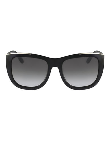 Chloé CE659S Dallia Square Sunglasses-BLACK-One Size