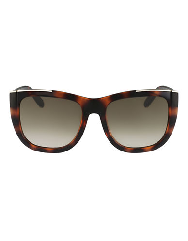 Chloé CE659S Dallia Square Sunglasses-TORTOISE-One Size