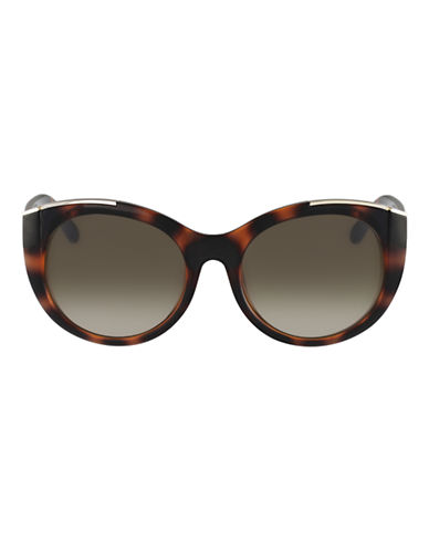 Chloé CE660S Dallia Cat Eye Sunglasses-TORTOISE-One Size