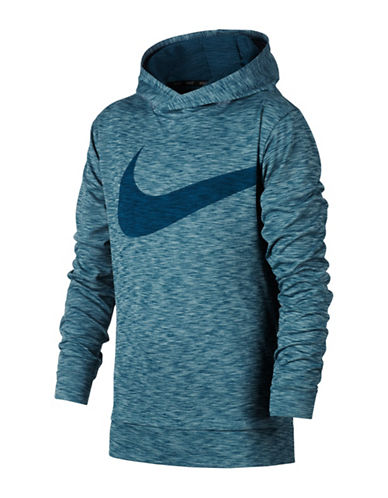 Nike Breathe Training Hoodie-AQUA-Small