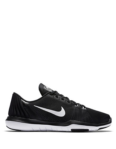 Nike Womens Flex Performance Sneakers-BLACK-5