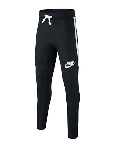 Nike Classic Track-Style Pants-BLACK-Small