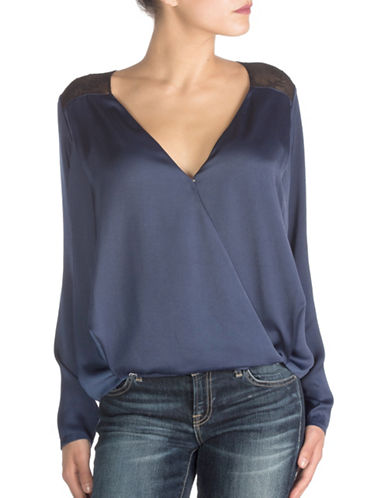 Guess Glenda Long-Sleeve Top-BLUE-Small 88752622_BLUE_Small