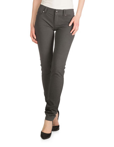 Guess Jenna Skinny Pants-GREY-30