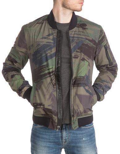 Guess York Camo Bomber Jacket-GREEN-Small 88560036_GREEN_Small