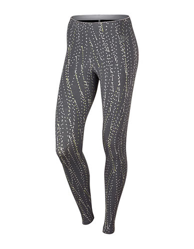 Nike All-Over Dotted Leggings-DARK GREY-X-Small 88838145_DARK GREY_X-Small