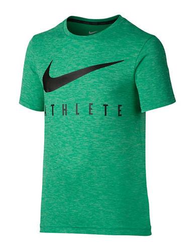Nike SS Hyper Dry T-Shirt-GREEN-X-Small 88909933_GREEN_X-Small