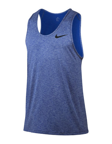 Nike Breathe Training Tank Top-BLUE-Medium 88925602_BLUE_Medium