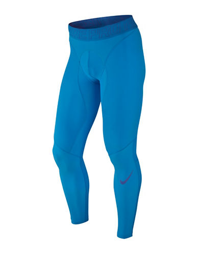 Nike Pro Hypercompression Tights-ITALY BLUE-XX-Large
