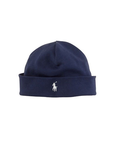 Ralph Lauren Childrenswear Beanie Hat-NAVY-One Size 86345005_NAVY_One Size