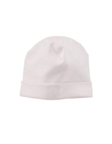 Ralph Lauren Childrenswear Beanie Hat-PINK-One Size