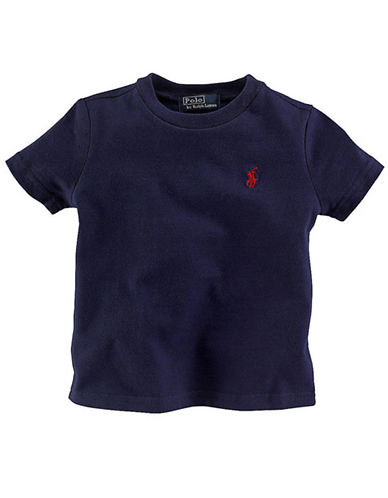Ralph Lauren Childrenswear Crew Neck T Shirt-POLO BLACK-5 86342900_POLO BLACK_5