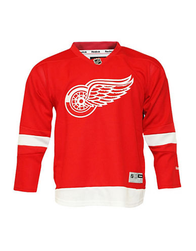 Reebok Detroit Red Wings Youth NHL Premier Home Jersey-RED-S/M