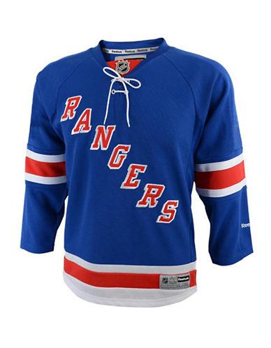 Reebok New York Rangers Youth NHL Premier Home Jersey-BLUE-L/XL