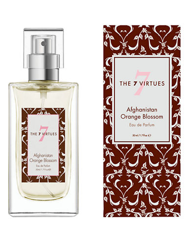 The 7 Virtues Afghanistan Orange Blossom Eau de Parfum Spray-NO COLOUR-50 ml