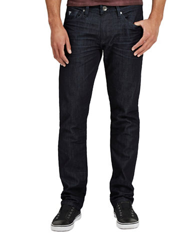Guess Slim Straight Leg Jeans-BLUE-28