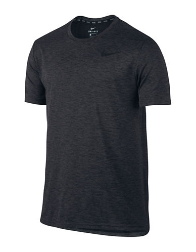 Nike Breathe Training T-Shirt-BLACK-XX-Large