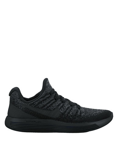 Nike Lunar Epic Low Flyknit Sneakers-BLACK-10 89758820_BLACK_10