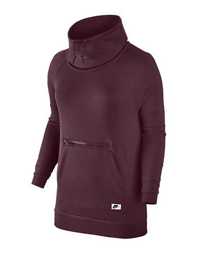 Nike Funnel Neck Hoodie-MAROON-Large 88838143_MAROON_Large