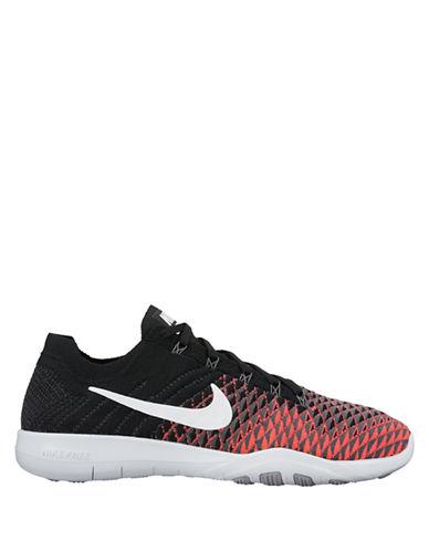 Nike FlyKnit Free Sneakers-BLACK-9.5