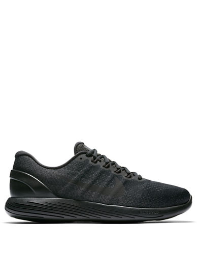 Nike Womens Lunarglide 8 Sneakers-BLACK-9