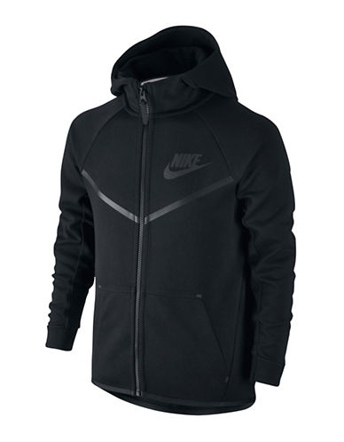 Nike Full Zip Hoodie-BLACK-X-Small 88745322_BLACK_X-Small