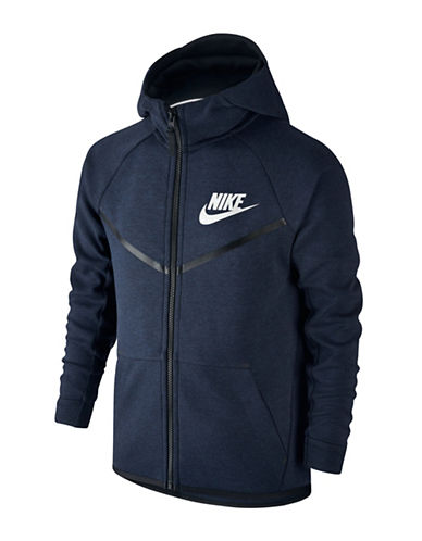 Nike Long Sleeve Hoodie-BLACK-X-Small 88745332_BLACK_X-Small
