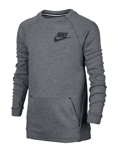 Nike Crew Neck Raglan Tee-GREY-Medium 88745343_GREY_Medium